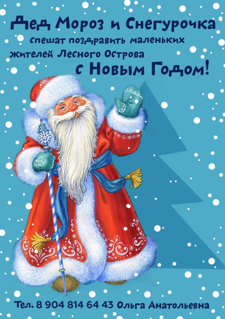 Дед мороз поздравление почтой